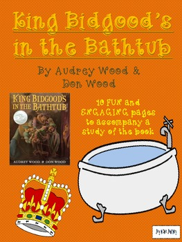 King Bidgood S In The Bathtub Activity Packet Tpt