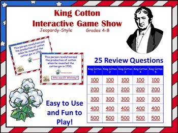 King Cotton and the Antebellum South No-Prep Bundle
