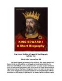 King Edward I of England - A Short Biography