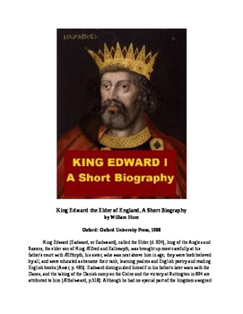 King Edward I of England - A Short Biography