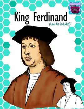 King Ferdinand Clipart - Realistic Image