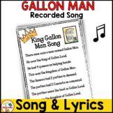 King Gallon Man Song