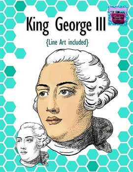 King George III Clipart - Realistic Image