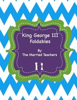 King George III Interactive Historical Figure Foldables