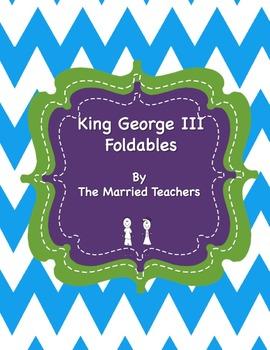 King George III Interactive Historical Figure Foldables