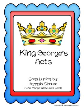 King George's Acts Song