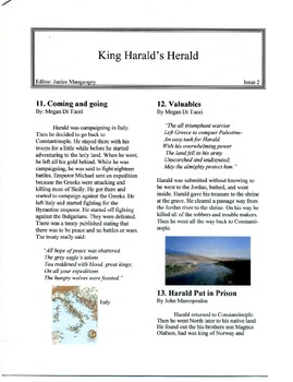 King Harald's Herald; The Vikings in World History