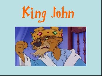 King John (Year Seven) Key Stage 3