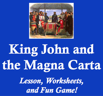 King John and the Magna Carta in Middle Ages England