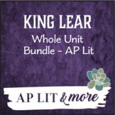King Lear Unit Bundle-AP Lit - Notes, Quizzes, & Summative Timed Writing
