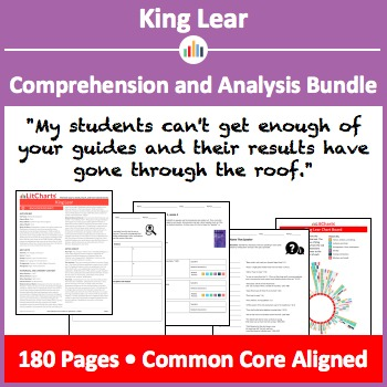 King Lear – Comprehension and Analysis Bundle