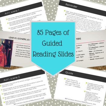 King Lear Guided Reading Notes