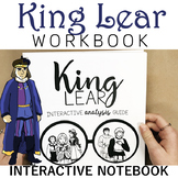 King Lear Interactive Notebook Bundle: Print and Digital