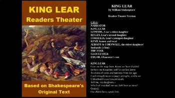King Lear PowerPoint - Readers Theater