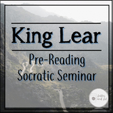 King Lear Pre-Reading Socratic Seminar Anticipation Guide