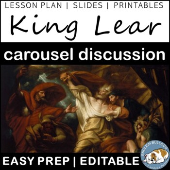 King Lear Pre-reading Carousel Discussion