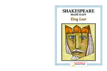 King Lear Reading Guide (Shakespeare Made Easy)