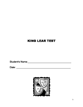 King Lear Test
