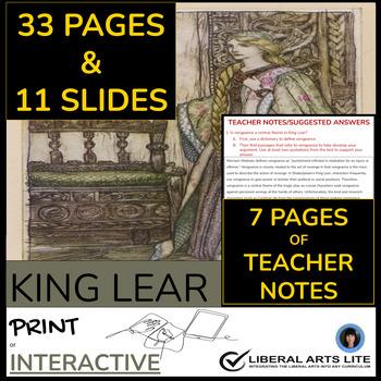 King lear a tragic hero essay
