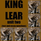 King Lear - test and essay questions