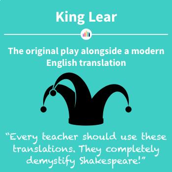 King Lear: the Original Play Alongside a Modern English Translation