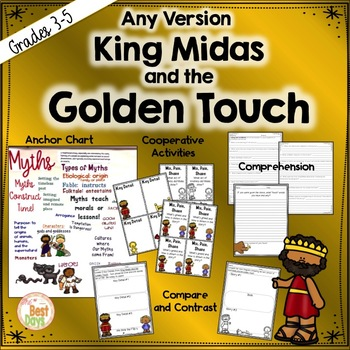 King Midas and The Golden Touch Any Myth Study