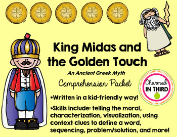 King Midas and the Golden Touch (Ancient Greek Myth)