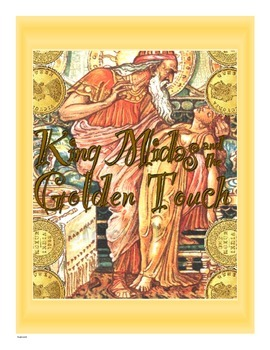 King Midas and the Golden Touch--Close Read Activity
