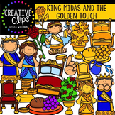 King Midas and the Golden Touch {Creative Clips Digital Clipart}