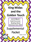 King Midas and the Golden Touch--Supplemental Packet--Reading Street Grade 5