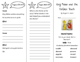 King Midas and the Golden Touch Trifold - Wonders 3rd Grade Unit 6 Week 1