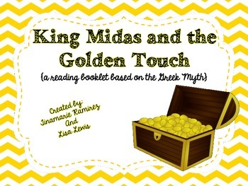 King Midas and the Golden Touch~ a One Week Reading Unit {booklet}