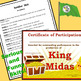 King Midas script for single class or large group musical performance