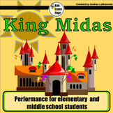 King Midas script for single class or large group musical