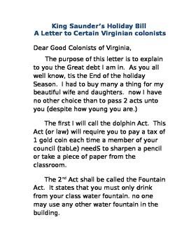 Virginia Studies: Tax the Class