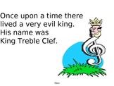 King Treble Clef