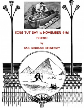 King TuT Day: November 4th  (Interactive Notebook Activity) FREE!
