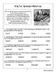 King Tut Biography Informational Texts Activities