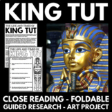 Ancient Egypt Unit - King Tut - Questions, Guided Research, Activities