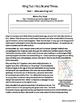 King Tut Biography Informational Texts Activities Grades 4, 5, 6