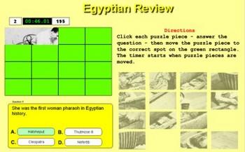 King Tut Puzzle With XML Question File - Bill Burton
