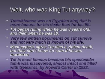 King Tut power point