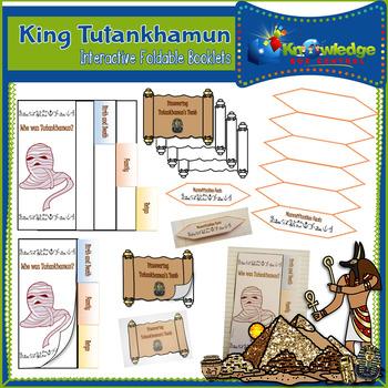 King Tutankhamun Interactive Foldable Booklets
