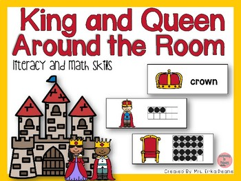 King and Queen Around the Room