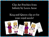 King and Queen Clip Art Freebies
