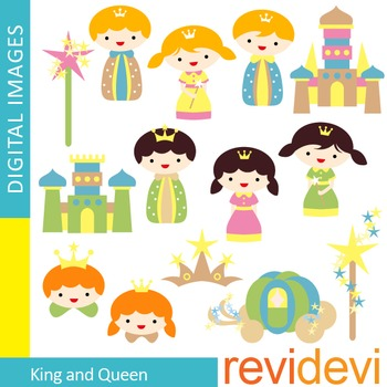 King and Queen Clip art