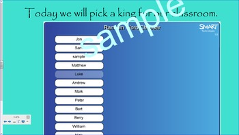 King and Queen  Smartboard File