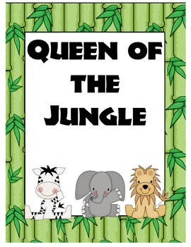 King and Queen of the Jungle Posters