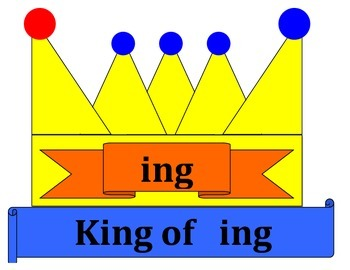 King of ing classroom poster