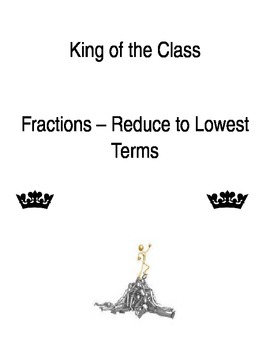 Fractions - Lowest Terms